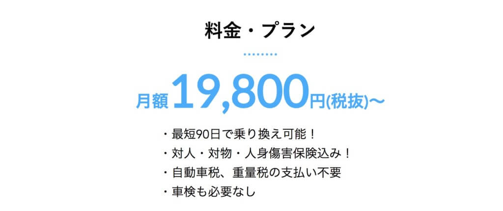 『NOREL』の料金プラン