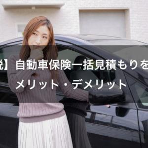 【解説】自動車保険一括見積もりを使うメリット・デメリット