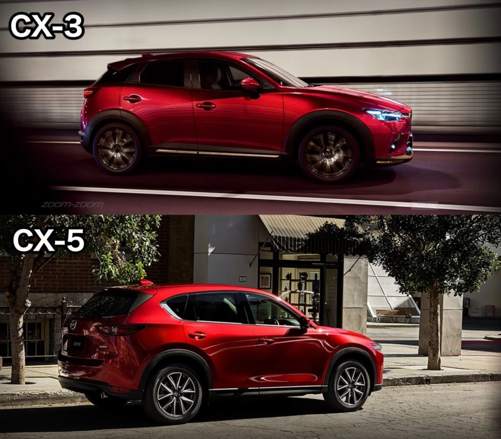 『CX-3』と『CX-5』それぞれの価格比較