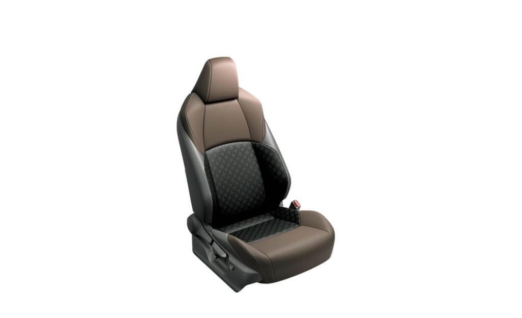 TNGAを採用し、高いシート剛性を実現