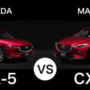マツダ『CX-3』と『CX-5』を徹底比較!どちらを買うのがオススメなのか?