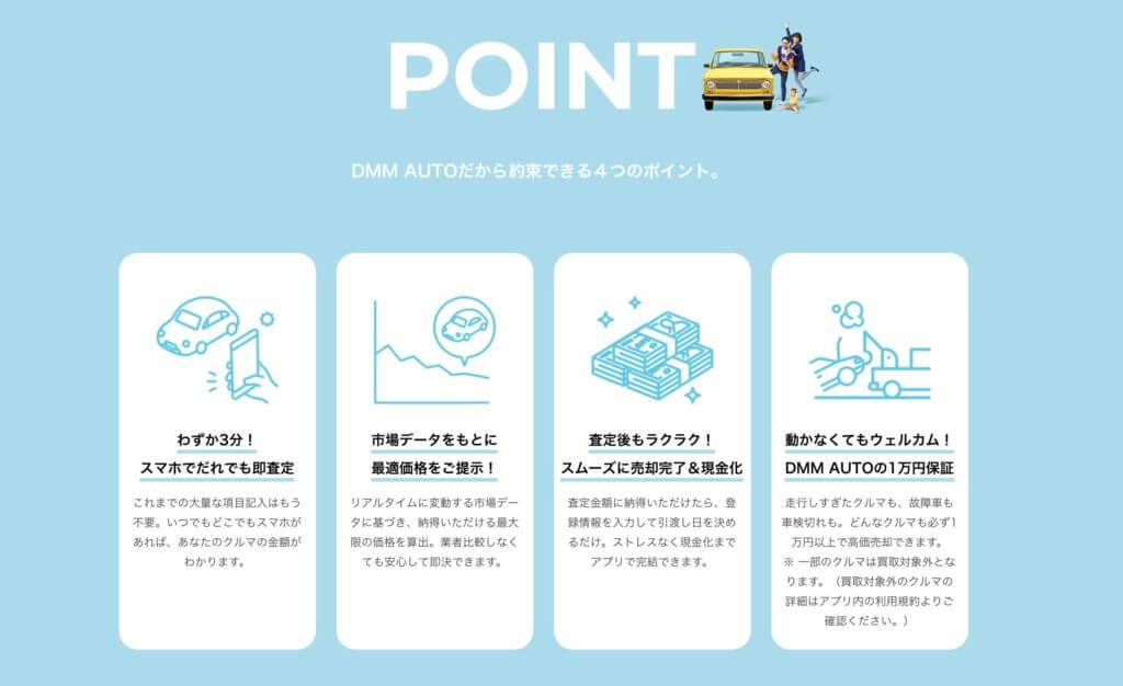 『DMM AUTO』の車買取申し込み方法