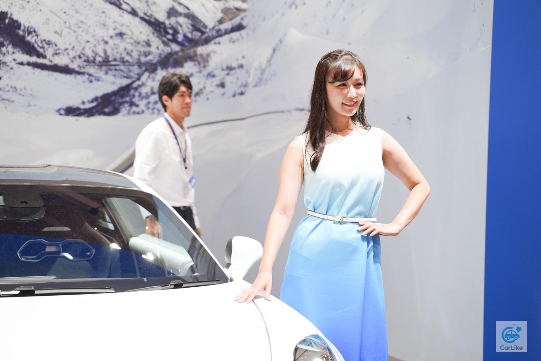 【アルピーヌ】東京モーターショー2019 コンパニオン画像