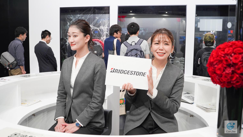 【ブリジストン】東京モーターショー2019 コンパニオン画像