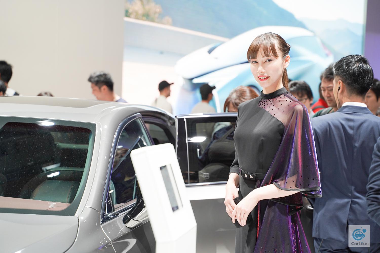 【レクサス】東京モーターショー2019 コンパニオン画像