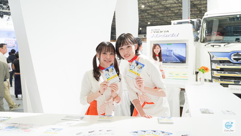 【日野】東京モーターショー2019 コンパニオン画像1